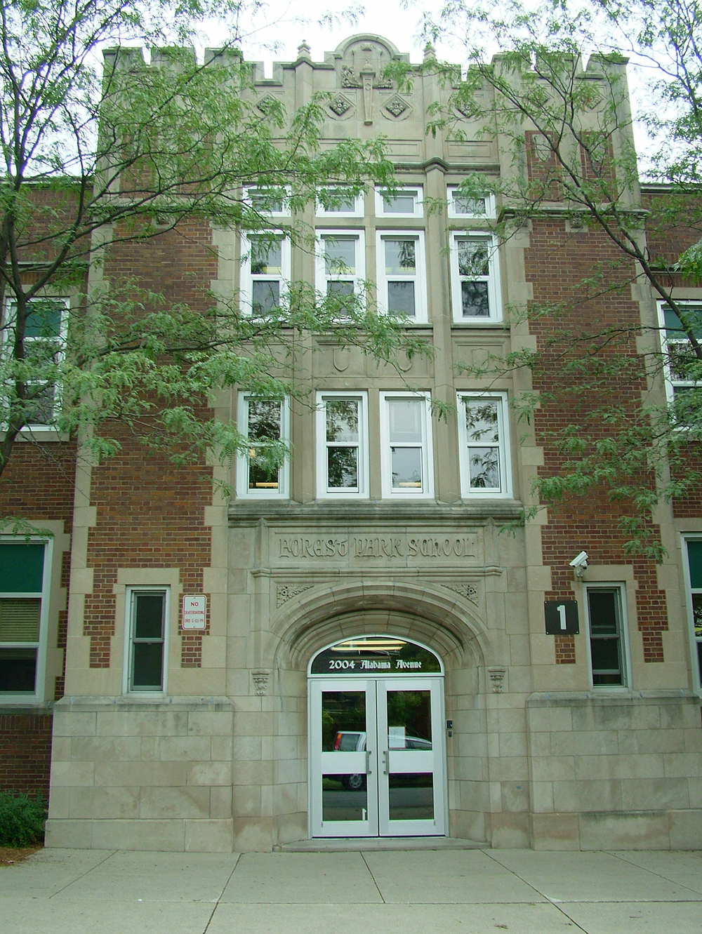 Forest Park Elementary School Building