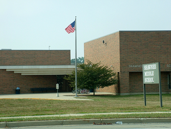 Shawnee Middle School Building
