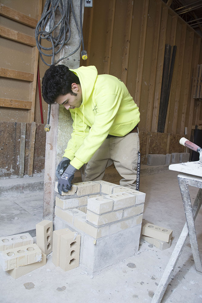 FWCS Career Academy - masonry construction